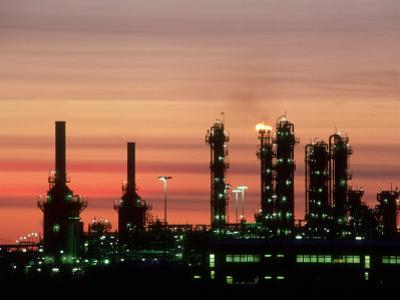 North Sea Gas Terminal, Buchan, Scotland by Iain Sarjeant