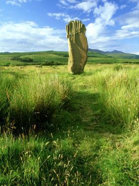 Standing Stone, Arran, Scotland by Iain Sarjeant