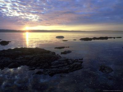 Sunset, Arran, Scotland by Iain Sarjeant