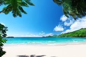 Beach Takamaka, Mahe Island, Seychelles by Iakov Kalinin