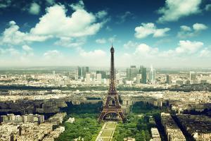 Eiffel Tower in Paris, France by Iakov Kalinin