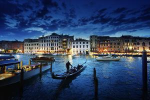 Grand Canal in Sunset Time, Venice, Italy by Iakov Kalinin