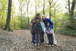Parents And Children In a Wood by Ian Boddy
