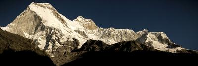 Nevado Huandoy Mountain Range, Parque Nacional Huascaran, UNESCO World Heritage Site, Peru