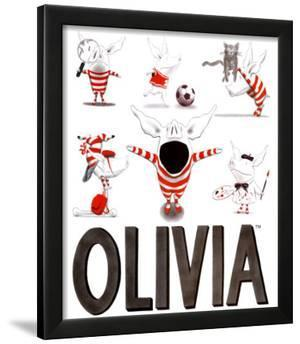 Olivia, Busy Little Piggy by Ian Falconer