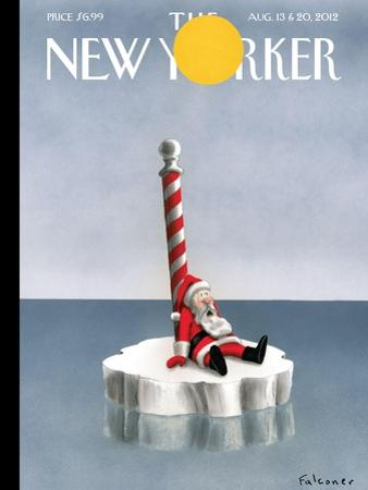 The New Yorker Cover - August 13, 2012