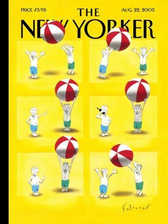 The New Yorker Cover - August 22, 2005