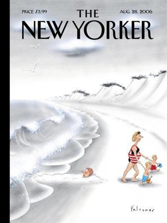The New Yorker Cover - August 28, 2006