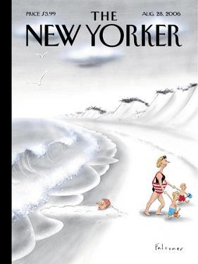 The New Yorker Cover - August 28, 2006 by Ian Falconer