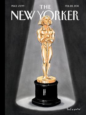 The New Yorker Cover - February 28, 2011 by Ian Falconer