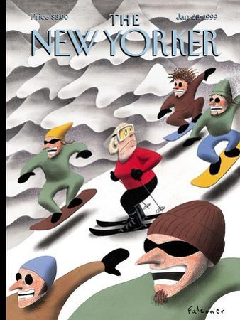 The New Yorker Cover - January 25, 1999