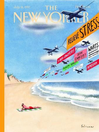 The New Yorker Cover - July 14, 1997