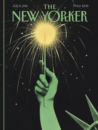 The New Yorker Cover - July 8, 1996
