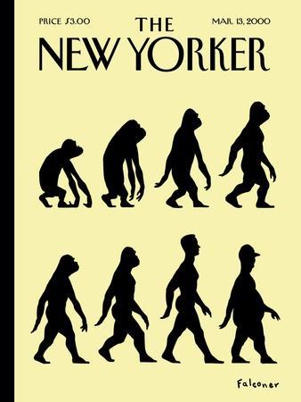 The New Yorker Cover - March 13, 2000