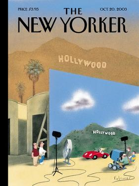The New Yorker Cover - October 20, 2003 by Ian Falconer