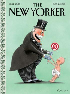 The New Yorker Cover - October 8, 2012 by Ian Falconer