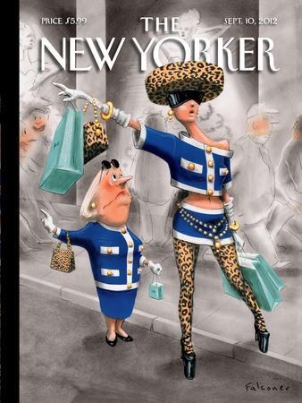 The New Yorker Cover - September 10, 2012