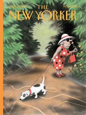 The New Yorker Cover - September 16, 1996 by Ian Falconer