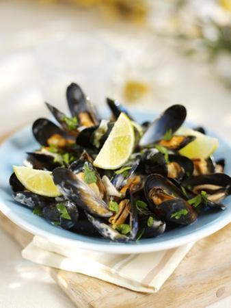 Marinated Mussels by Ian Garlick
