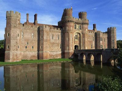 Herstmonceux Castle, Sussex, England, United Kingdom, Europe