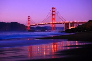 Golden Gate Bridge Dusk by Ian Philip Miller