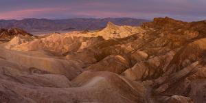 Death Valley National Park, California: Sunrise On Zabriskie Point by Ian Shive