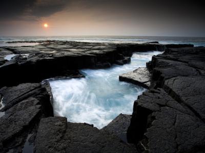 Lava Patterns in Hawaii