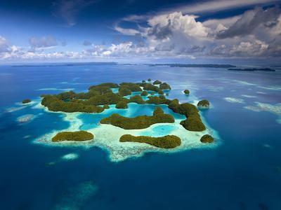 Palau and 70 Mile Islands
