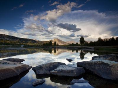 Yosemite National Park, California: Sunset Light on Tuolumne River and Meadows by Ian Shive