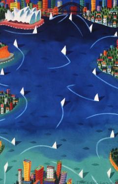 Sydney Sails by Ian Tremewen