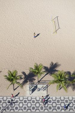 Aerial View of Ipanema Beach, Rio De Janeiro, Brazil by Ian Trower