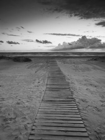 Beach at Dusk, Liepaja, Latvia