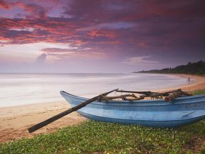 Bentota Beach at Sunset, Western Province, Sri Lanka by Ian Trower
