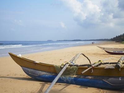 Bentota Beach, Western Province, Sri Lanka, Asia by Ian Trower