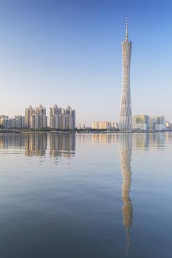 Canton Tower, Tian He, Guangzhou, Guangdong, China, Asia by Ian Trower