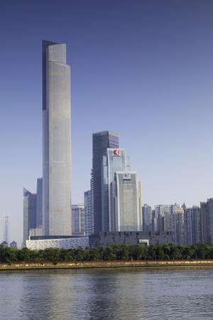 CTF Finance Centre (world's seventh tallest building in 2017 at 530m), Tianhe, Guangzhou, Guangdong