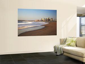 Durban Skyline and Beachfront, Kwazulu-Natal, South Africa by Ian Trower
