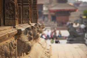 Durbar Square, Patan, UNESCO World Heritage Site, Kathmandu, Nepal, Asia by Ian Trower