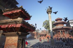 Durbar Square, UNESCO World Heritage Site, Kathmandu, Nepal, Asia by Ian Trower