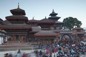 Durbar Square, UNESCO World Heritage Site, Kathmandu, Nepal, Asia by Ian Trower