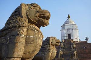 Fasidega Temple, Durbar Square, Bhaktapur by Ian Trower