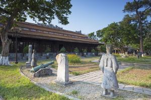 Fine Arts Museum, Citadel, Hue, Thua Thien-Hue, Vietnam, Indochina, Southeast Asia, Asia by Ian Trower