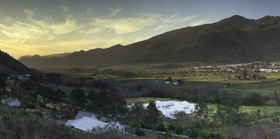 Franschhoek, Western Cape, South Africa, Africa by Ian Trower