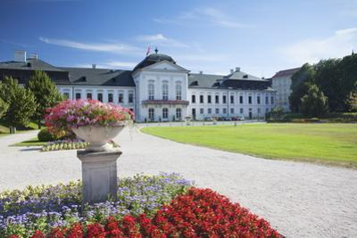 Grassalkovich Palace, Bratislava, Slovakia, Europe by Ian Trower