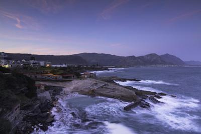 Hermanus at sunset, Western Cape, South Africa, Africa by Ian Trower