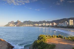 Ipanema Beach, Rio De Janeiro, Brazil, South America by Ian Trower