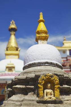 Kathesimbhu Stupa, Kathmandu, Nepal, Asia by Ian Trower