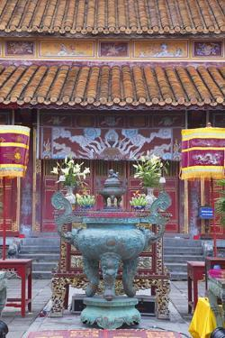 Mieu Temple Inside Imperial Palace in Citadel, Hue, Thua Thien-Hue, Vietnam, Indochina by Ian Trower