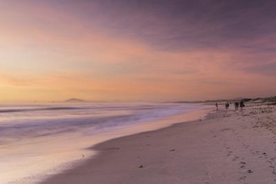 Milnerton Beach at sunset, Cape Town, Western Cape, South Africa, Africa by Ian Trower