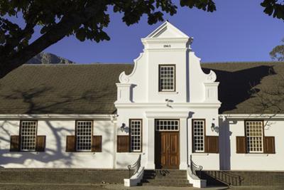 NGK Hall, Franschhoek, Western Cape, South Africa, Africa